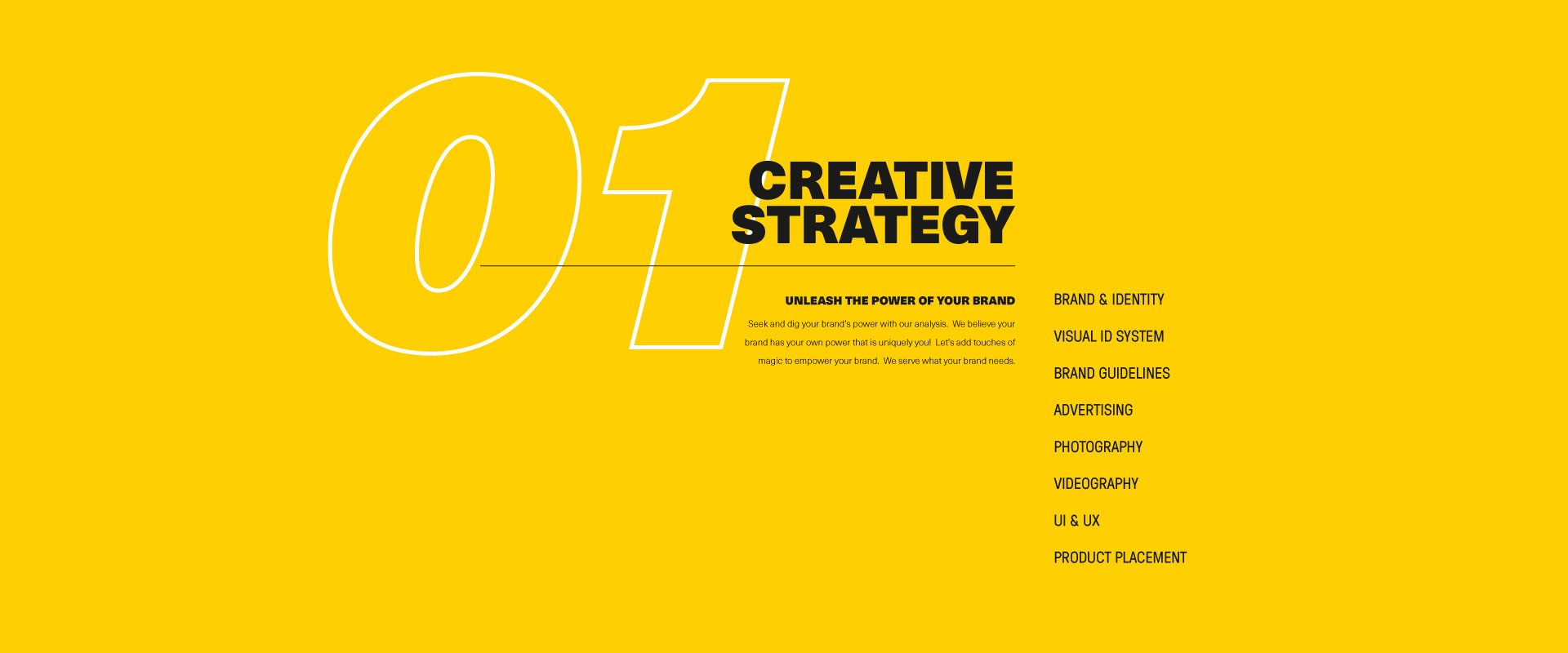 Creative Strategy