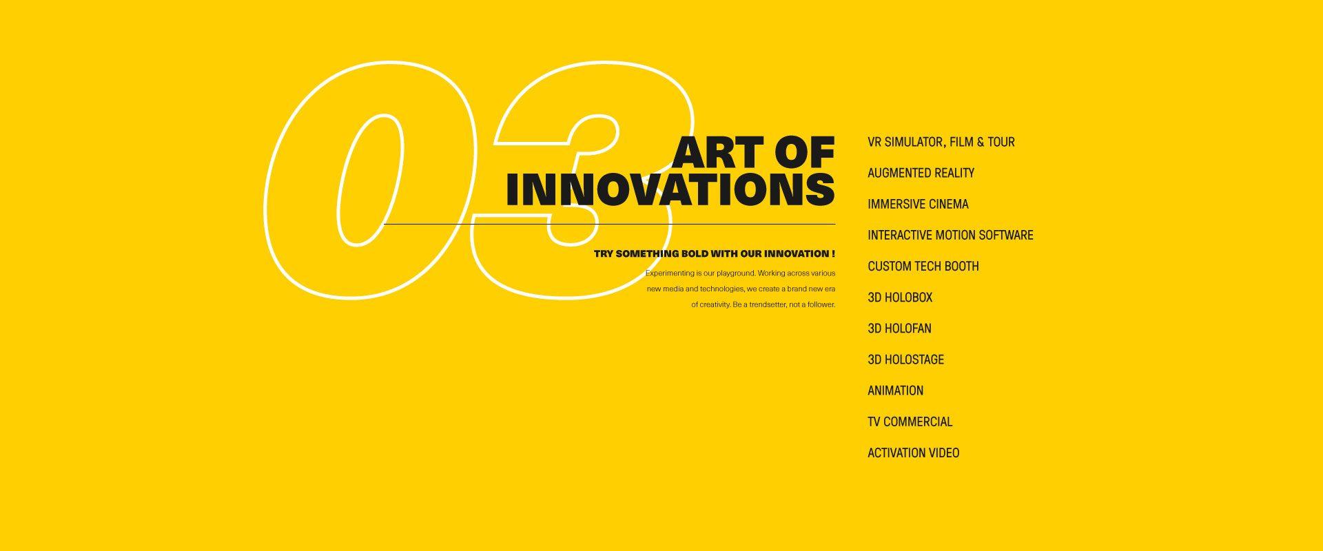 Art Of Innovations